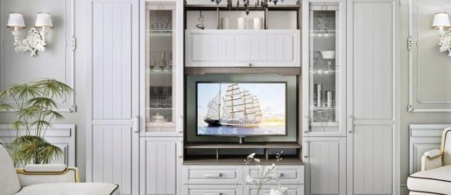 Белая мебель в гостиную: что нужно знать